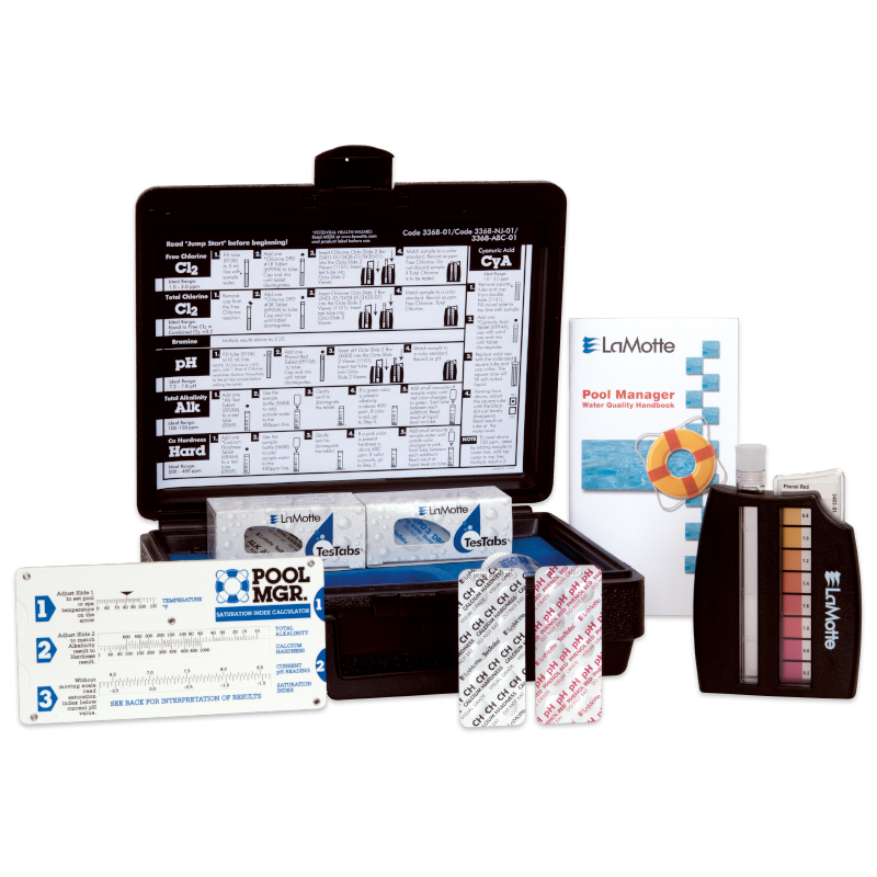 POOL MGR. Tablet Series Test Kits