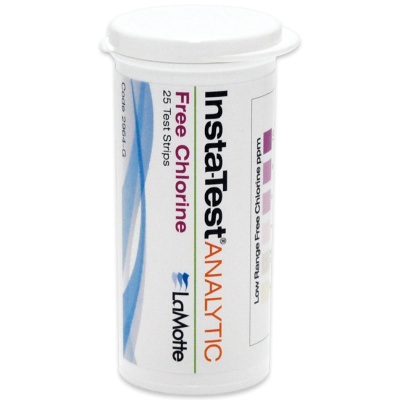 Free Chlorine Low Range Test Strips