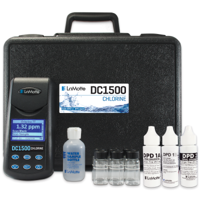 Model DC1500 Chlorine (Free & Total) Colorimeter Lab - Liquid Reagents