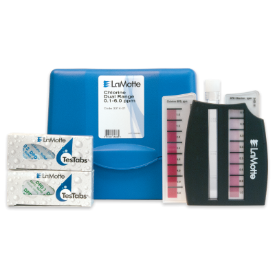 Dual Range Chlorine Test Kit