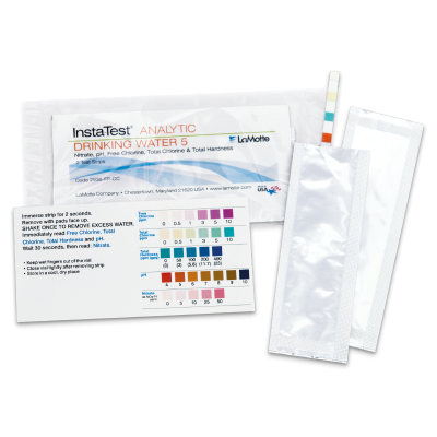 Insta-TEST® Foil Packaged Drinking Water Test Strip