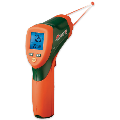 IR Thermometer with Color Alert System