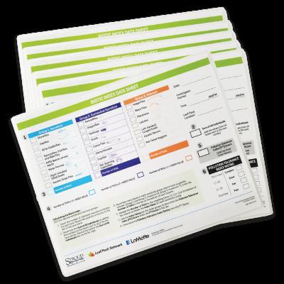 Biotic Index Data Sheet
