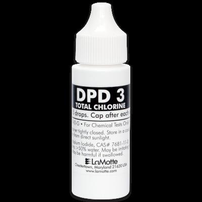 DPD 3 Total Chlorine Liquid Reagent, 30 mL
