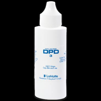 DPD 3 Total Chlorine Liquid Reagent, 60 mL